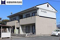 愛知県豊川市上野2丁目の賃貸アパートの外観