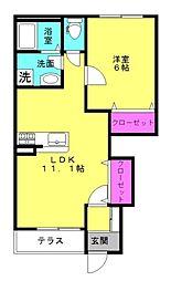 仮)本町新築アパート[103号室]の間取り