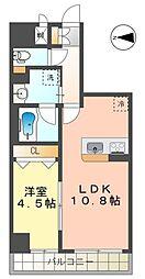 RESIDENCIA TOYOTA SAKURAMACHI 12階1LDKの間取り