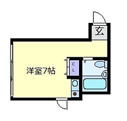 F・COURT[1階]の間取り