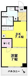 コンフォート関町II[210号室]の間取り