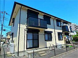 神奈川県相模原市緑区橋本8丁目の賃貸アパートの外観