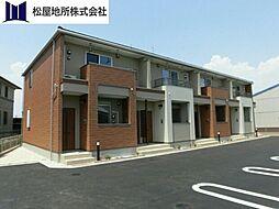 愛知県豊橋市下地町字門の賃貸アパートの外観