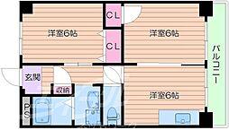 エルプラド京橋7号棟[10階]の間取り
