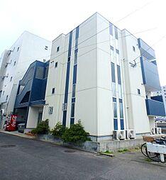 福岡県福岡市早良区百道2丁目の賃貸アパートの外観