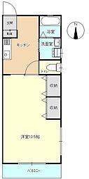 南町エミナス[2階]の間取り