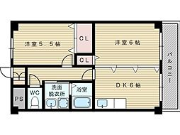 ASK21[2階]の間取り