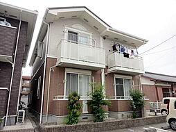 愛知県岡崎市上六名4丁目の賃貸アパートの外観