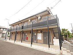 神奈川県伊勢原市田中の賃貸アパートの外観