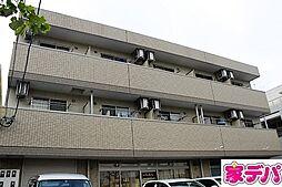 愛知県岡崎市柱4丁目の賃貸アパートの外観