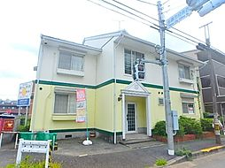 東京都多摩市貝取の賃貸アパートの外観
