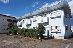 栃木県小山市城北2丁目の賃貸アパートの外観