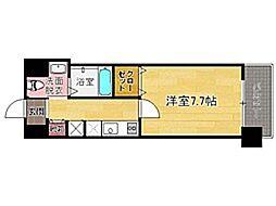 アクタス六本松タワー[11階]の間取り