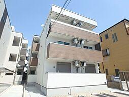 大阪府豊中市服部本町5丁目の賃貸アパートの外観