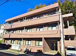東京都八王子市上柚木の賃貸マンションの外観