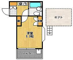 ジュネパレス習志野第13[1階]の間取り