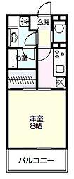 ロイヤルパーク多摩川2番館[229号室]の間取り