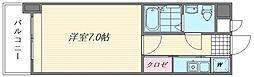 エステートモア箱崎II[7号室]の間取り