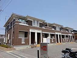 滋賀県彦根市芹橋2丁目の賃貸アパートの外観