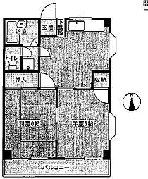 チェリータウン[3階]の間取り