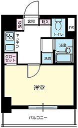 東京都千代田区東神田1丁目の賃貸マンションの間取り