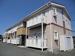 静岡県浜松市北区新都田2丁目の賃貸アパートの外観
