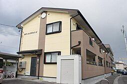 愛知県岡崎市鴨田町字辻の賃貸アパートの外観