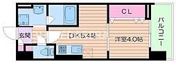 La CASA京橋[6階]の間取り