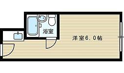 ユニゾーン新大阪[8階]の間取り