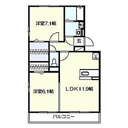AXIS原宿五番館[1階]の間取り