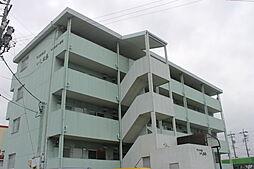 愛知県岡崎市洞町字的場の賃貸マンションの外観
