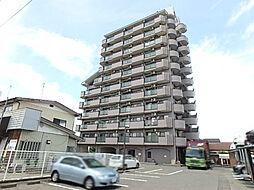 栃木県宇都宮市海道町の賃貸マンションの外観