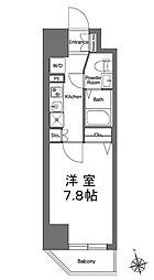 エルスタンザ浅草[7階]の間取り