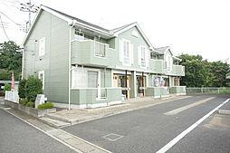 栃木県小山市乙女1丁目の賃貸アパートの外観