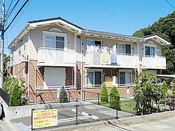 神奈川県鎌倉市腰越の賃貸アパートの外観
