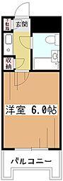 東京都小平市小川西町4丁目の賃貸マンションの間取り