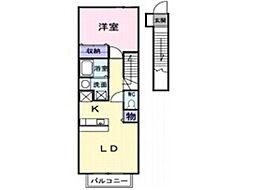 チアフルホーム C[2階]の間取り