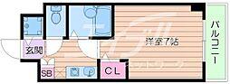 ジョイフル京橋[5階]の間取り