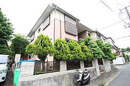 神奈川県横浜市港北区師岡町の賃貸アパートの外観