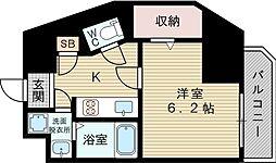セントアミー新大阪北[8階]の間取り