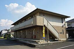 栃木県小山市城東4丁目の賃貸アパートの外観