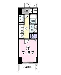 クラシェス新長田[12階]の間取り
