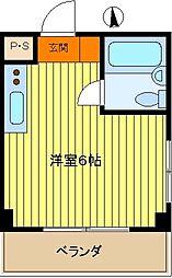 第5新井ビル[401号室]の間取り