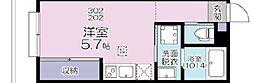 JR京浜東北・根岸線 大宮駅 徒歩11分の賃貸アパート 3階1Kの間取り