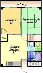 ミネトモ浦安フラット[4階]の間取り