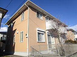 神奈川県厚木市林5丁目の賃貸アパートの外観