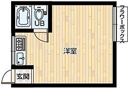 クレスト88[3階]の間取り