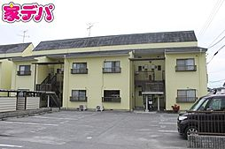 愛知県岡崎市宮地町字柳畑の賃貸アパートの外観