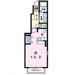 サン メゾン M・K II[101号室]の間取り