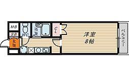 ヒストリカル堺[4階]の間取り